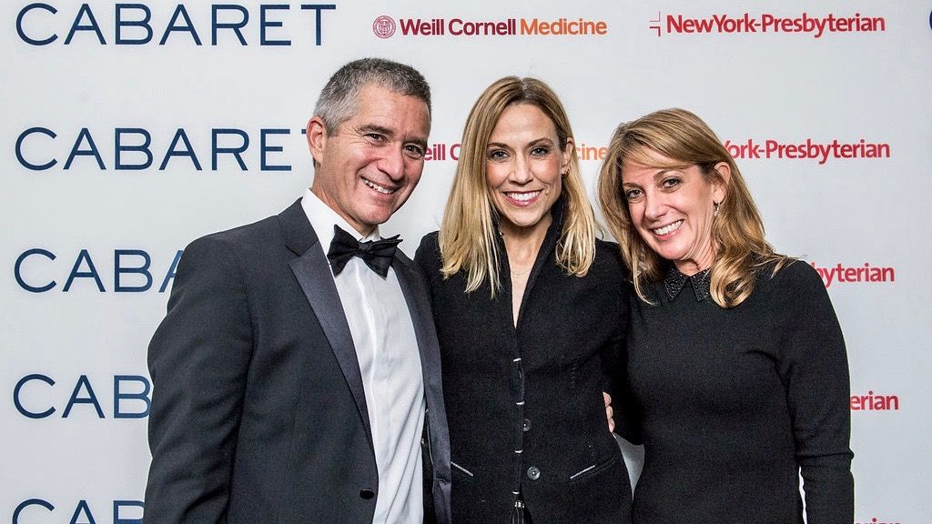 Dr. Ralph Slepian and his wife, Dr. Allison Spatz pictured with Grammy Award-winning singer, Sheryl Crow